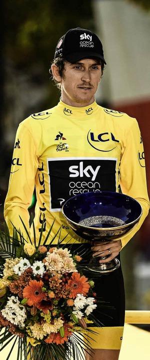Thomas, der verdiente Sieger – auch nach Meinung der Konkurrenz.  | Foto: AFP