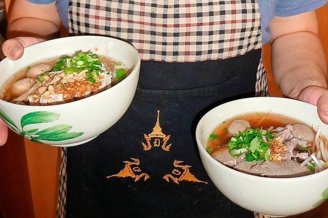 In der Suppenbar Chada Thai dampft und duftet es