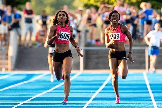 Sprinterin aus Jamaika knackt einen Rheinfelder Uralt-Rekord