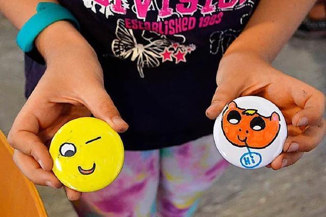 Grenzach-Wyhlen: Kreative Kids gestalten Masken