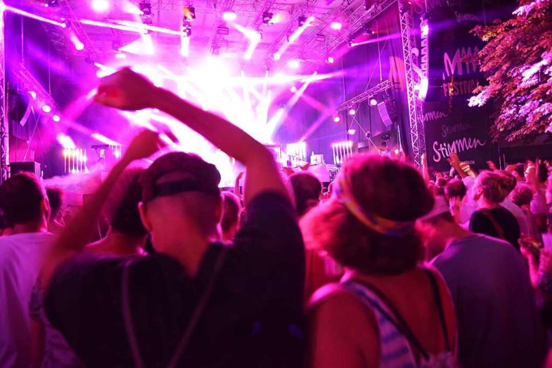 Party war nicht nur beim Dendemann-Konzert angesagt.  | Foto: Jonas Hirt