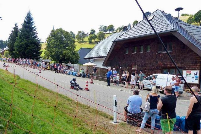 Schauinslandrennen auf dem Bobbycar
