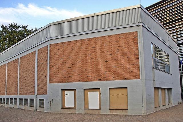Sanierungsarbeiten in Üsenberghalle und Aula des Gymnasiums
