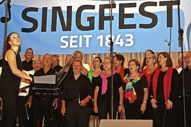 Wer singt, macht keine Dummheiten