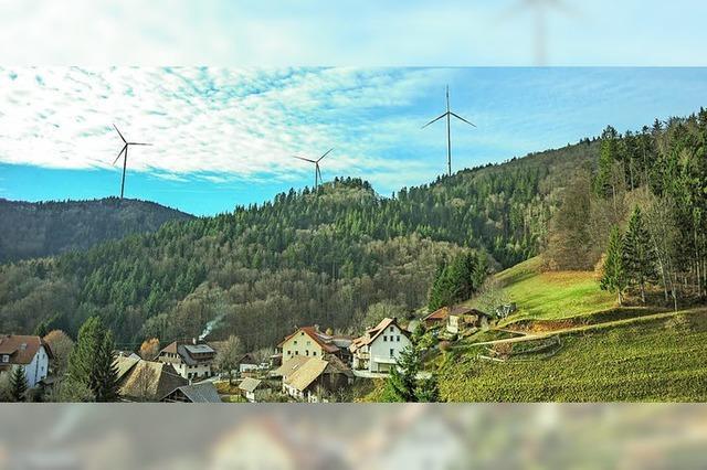 Wasen-Windpark hinter dem Zeitplan