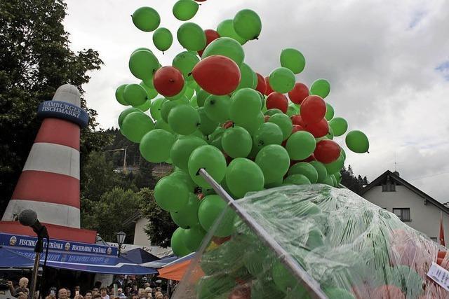 Für jedes Jahr einen Luftballon