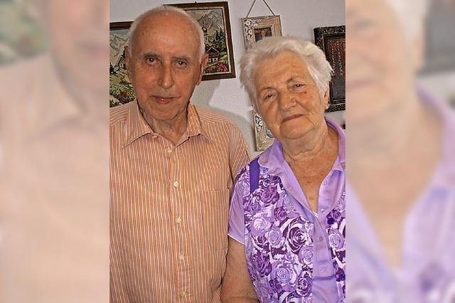 In 60 Jahren zusammen viel erlebt