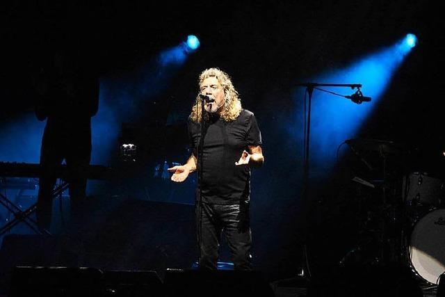 Das Konzert von Robert Plant auf dem Lörracher Marktplatz