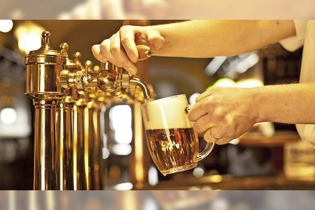 Hitze macht Durst auf Bier