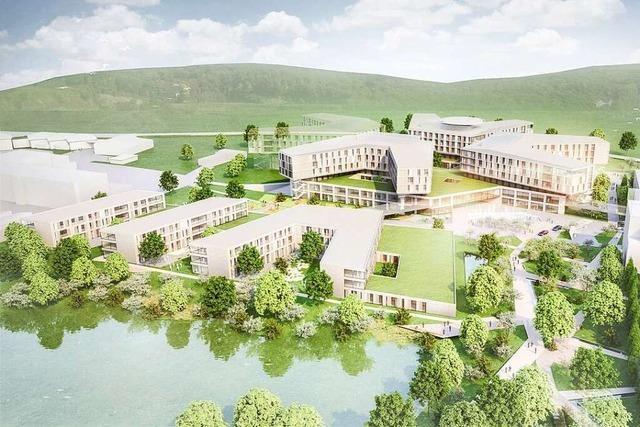 Größtes Bauvorhaben im Kreis Lörrach: Zweitplatzierte planen Zentralklinikum