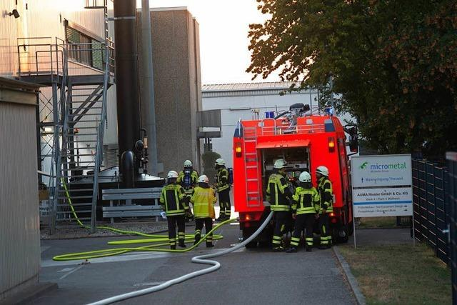 Sicherheitstechnik bringt Gasaustritt schnell unter Kontrolle