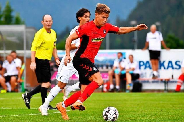 In Bahlingen gibt es am Freitag den SC Freiburg im Doppelpack