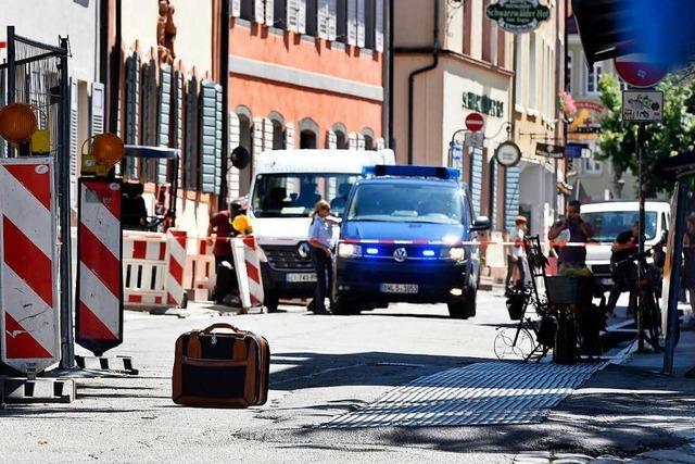 Polizei geht Hinweisen zum Mann mit dem Koffer nach