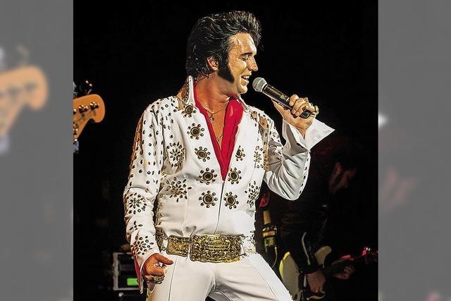 Die Roll Agents bringen Elvis und seine Las-Vegas-Show nach Lahr