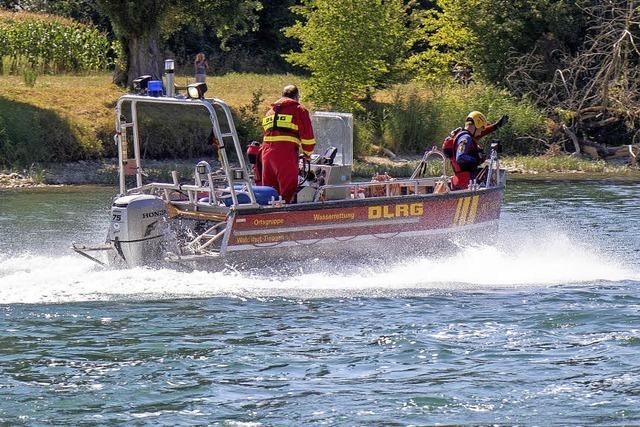Vier Tote in einer Woche im Hochrhein: Wassersportclub will Rettern helfen