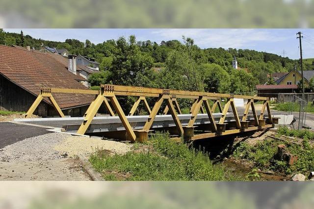 Brücke über Ehrenbach wird saniert