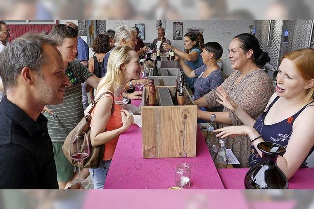 Wein-Welt wird weiblicher