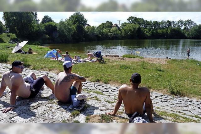 Wie der Baggersee zum Badesee wird