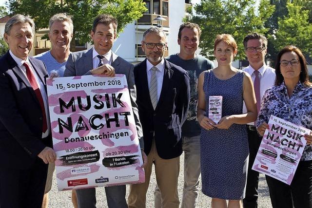 Musiknacht verwandelt Stadt in Bühne