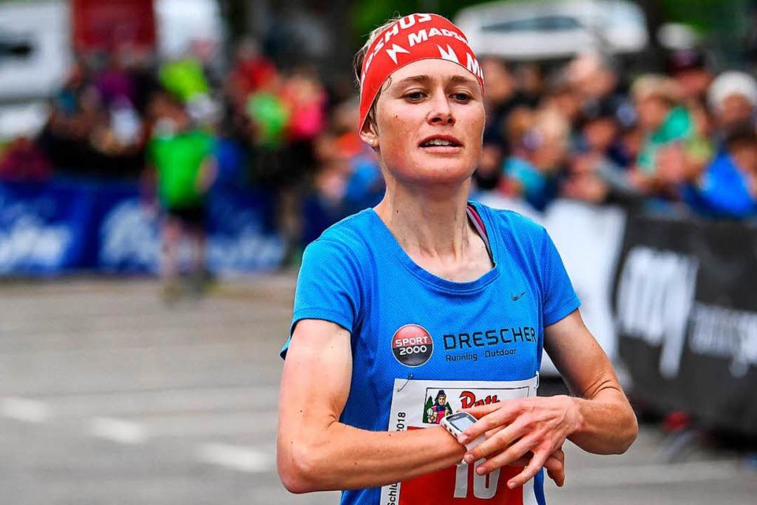 Stefanie Doll, hier beim Schluchseelau...ich nun als Bergläuferin etablieren.    | Foto: Patrick Seeger
