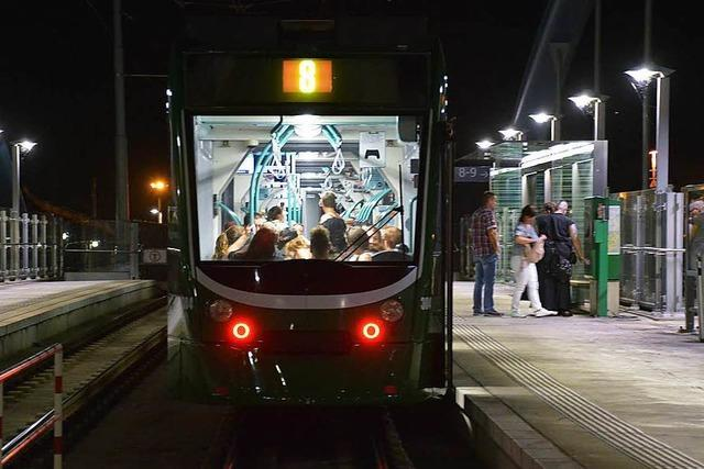 Die Tram 8 nach Weil am Rhein legt erneut zu