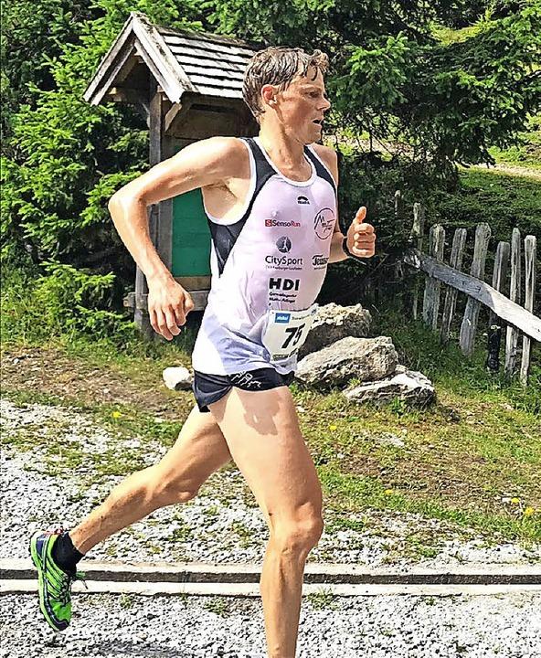Der Weg ist das Ziel: Benedikt Hoffmann in Tirol.    Foto: zvg