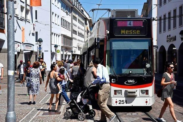 Die VAG Freiburg hat 2017 so viele Passagiere transportiert wie nie zuvor