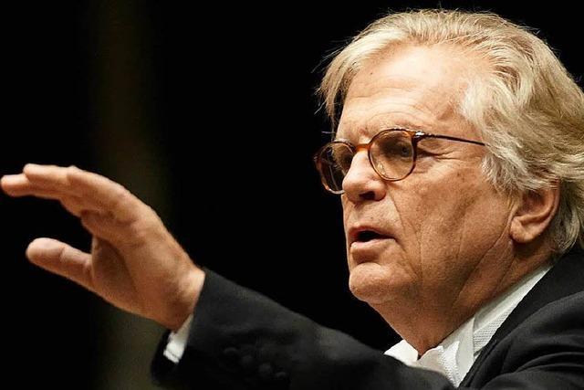 Das Konzert mit Justus Frantz am Donnerstag in Bad Krozingen fällt aus