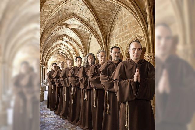 The Gregorian Voices interpretieren Popsongs