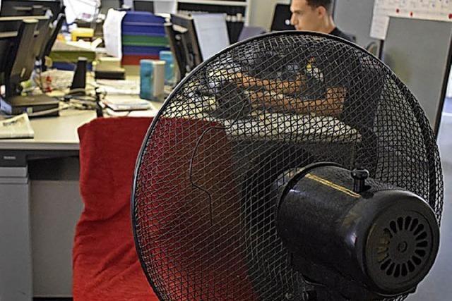 AUCH DAS NOCH: Klimaanlage Marke Eigenbau