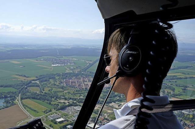 Rundflug über die Festungsanlage von Neuf-Brisach