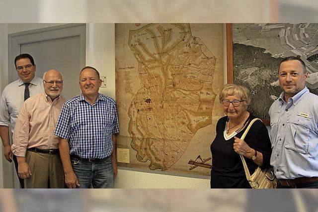 Zwei Amerikaner finden in Göschweiler ihre Wurzeln