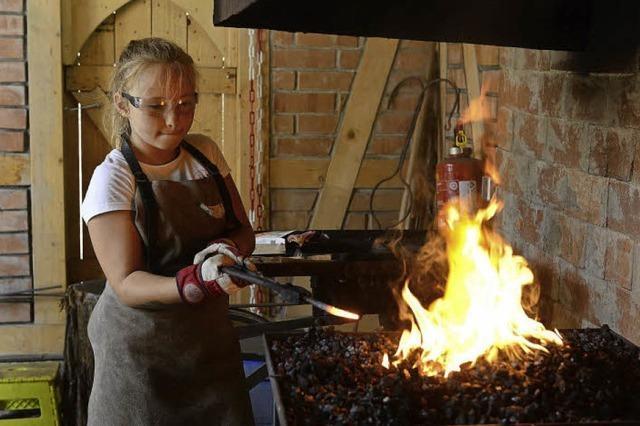 Was Kinder beim Sommerlager auf dem Abenteuerspielplatz Weingarten erleben
