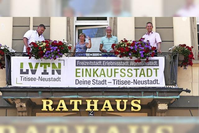 Titisee-Neustadt zeigt Flagge