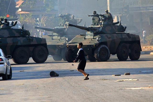 Tote bei Ausschreitungen nach umstrittener Wahl in Simbabwe