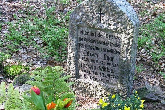 Vor 80 Jahren verirrten sich zwei Kinder im Wald bei Bernau – und starben