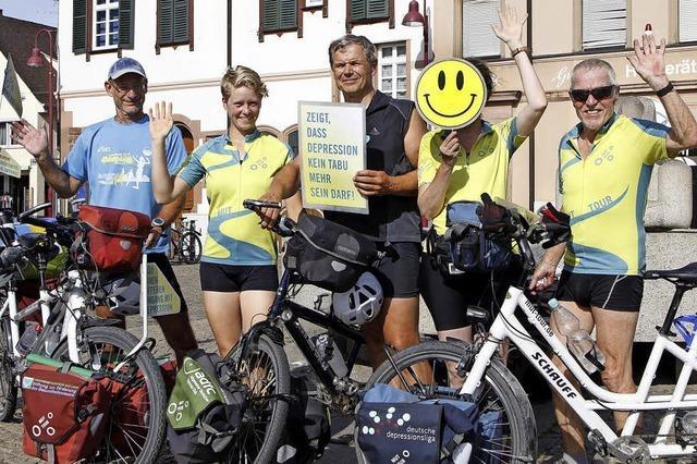5250 Kilometer Radfahren gegen Depression