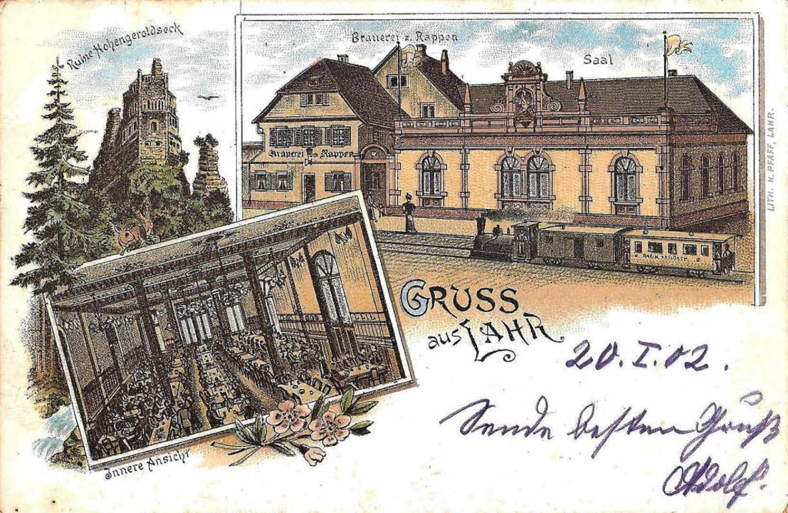 Brauerei Rappen 1902  | Foto: Manfred Eble