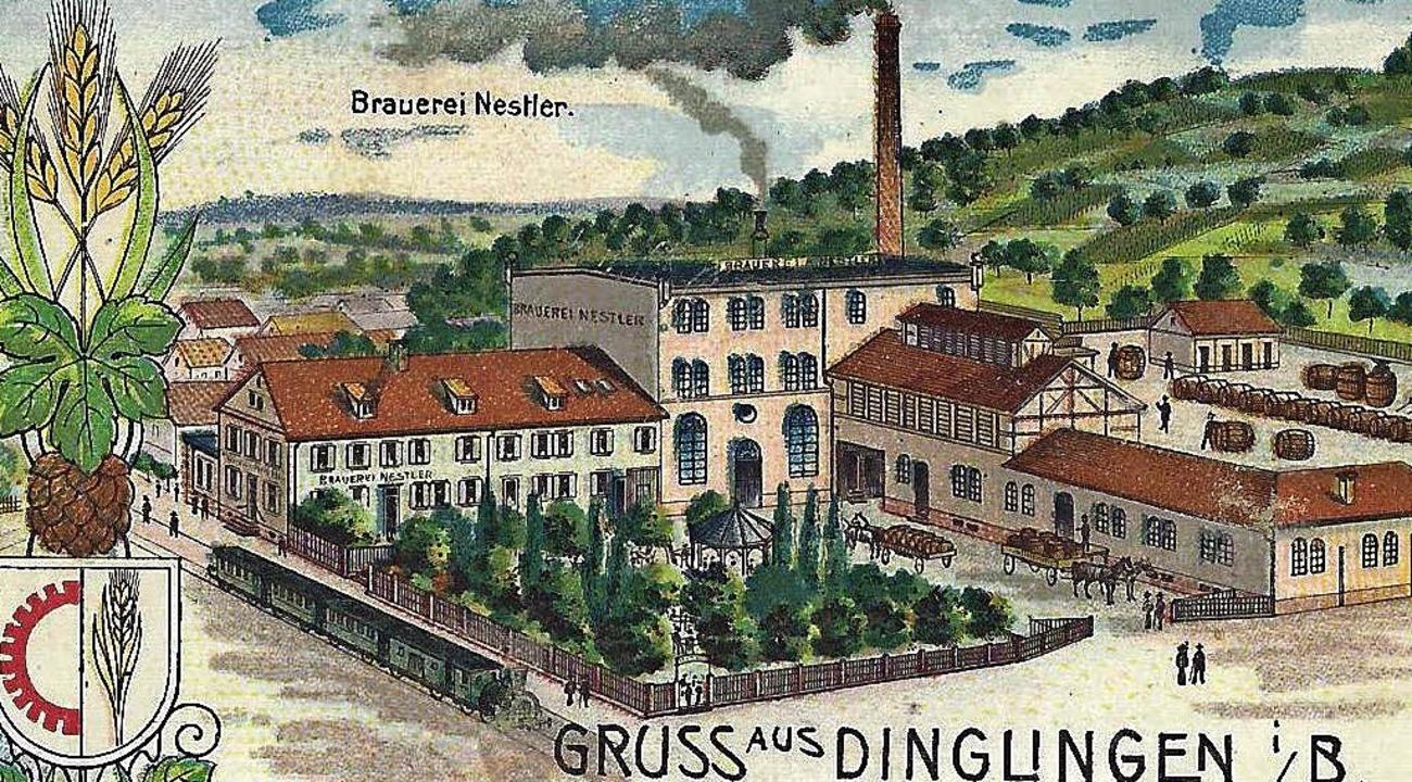 Brauerei Nestler  1905  | Foto: Manfred Eble