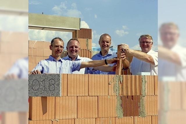 Diakonie legt Grundstein für Wohnprojekt