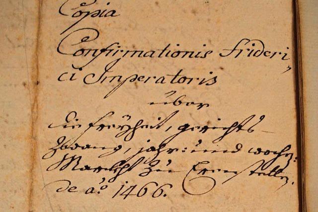 Der Lorenzemärt in Ehrenstetten wird 600 Jahre alt