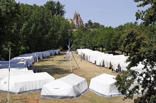 Badische Turnerjugend veranstaltet das 50. Zeltlager in Breisach