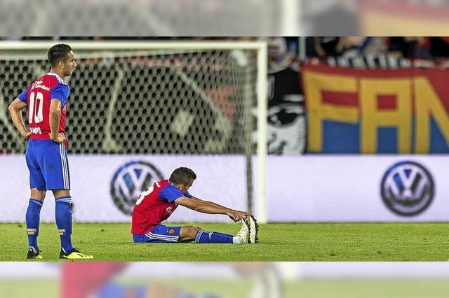 In Champions League nichts verloren