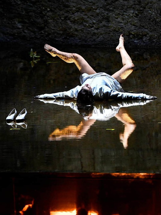 "Asmik Grigorian in der ""Salome""  | Foto: AFP"