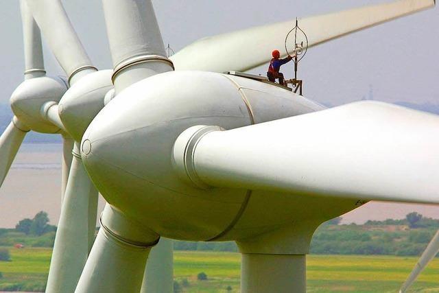 Die Windkraftbranche rutscht in die Krise