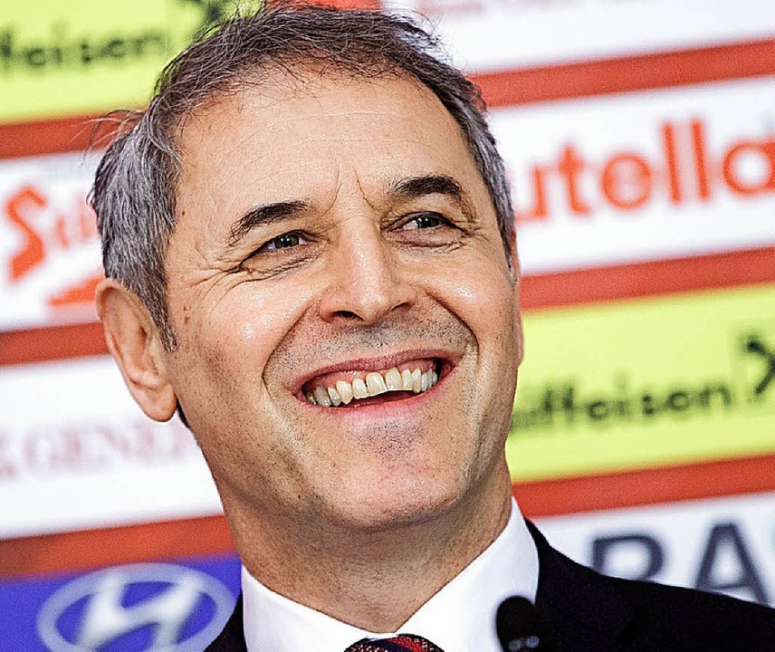 Neuer Hoffnungsträger in Basel: Trainer Marcel Koller   | Foto: dpa