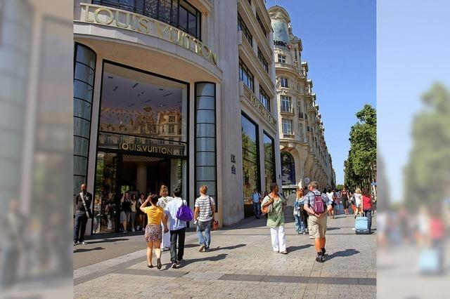 Alle wollen auf die Champs-Élysées