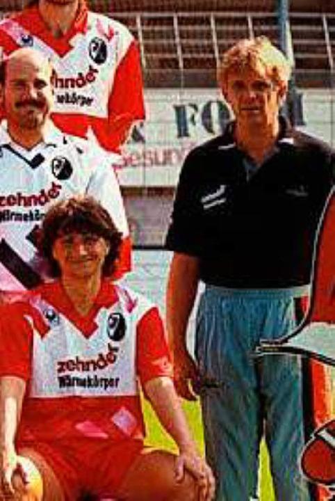 Der Trainer: Natürlich Volker Finke  | Foto: SC Freiburg