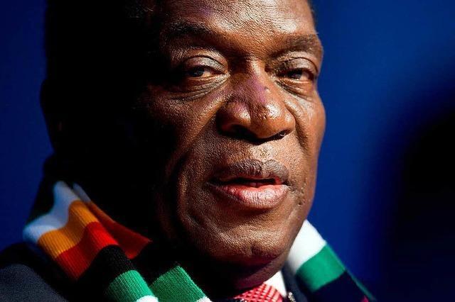 Präsident Mnangagwa gewinnt Wahl in Simbabwe
