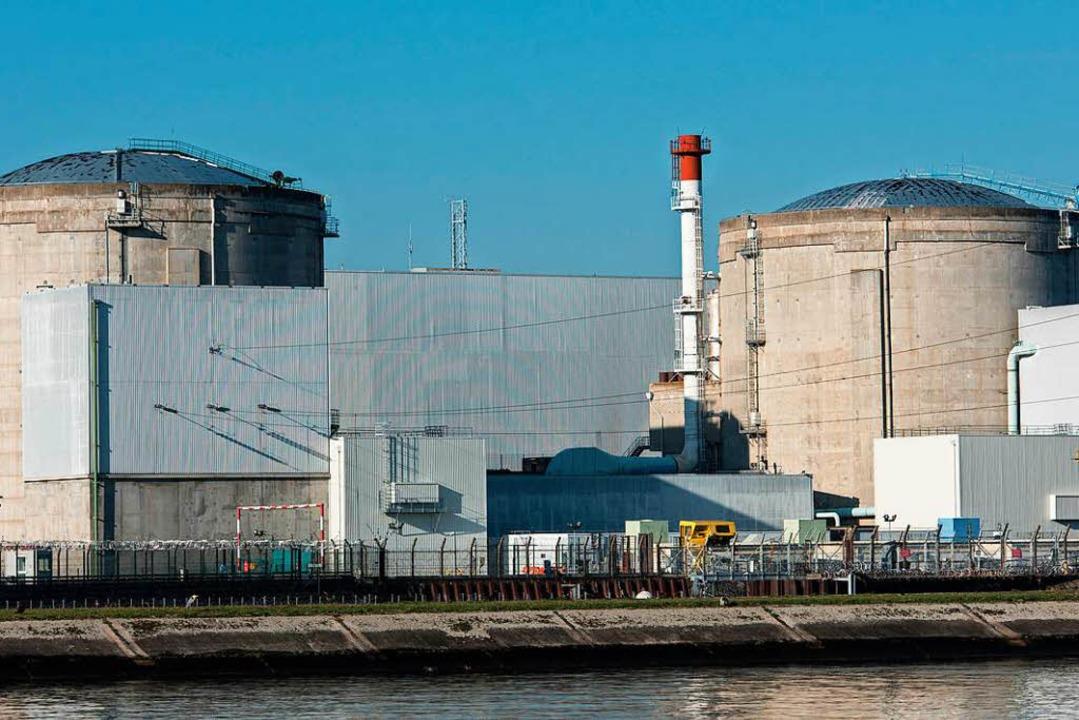 Das Atomkraftwerk Fessenheim in Frankreich.  | Foto: dpa